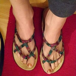 NWOT cute Mexican sandals
