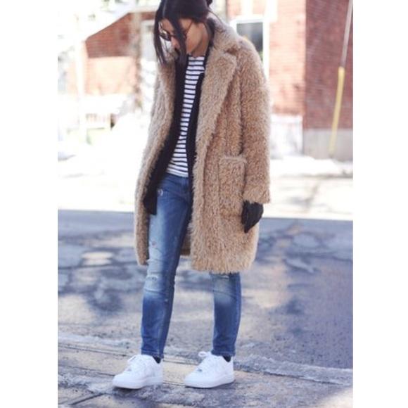 Zara Jackets Amp Coats Teddy Bear Coat Perfect For Autumn