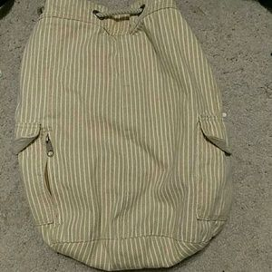 🔵Tan backpack