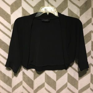 Jackets & Coats - Short black jacket/coverup
