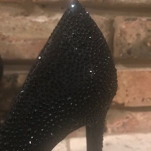 Black studded Diba Heels