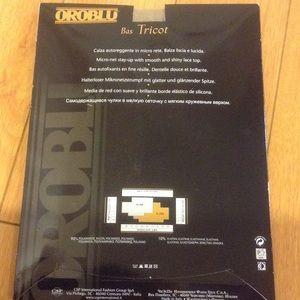 43feab4e20d2cb OROBLU Accessories | Nwt Bas Tricot Fishnet Stayup Stockings | Poshmark