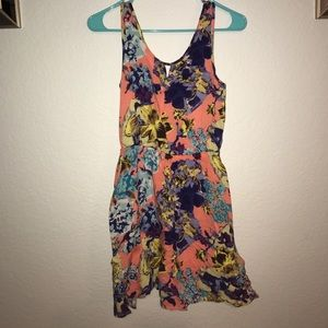 Multi-colored casual sundress