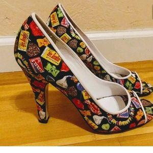 Betseyville candy heels