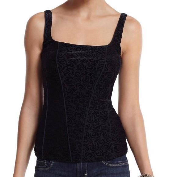 038b7661f58 WHBM black velvet corset top never worn. M 59d3d0ff2fd0b73c780484bb