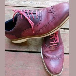 Men's Cole Haan wing tip shoes