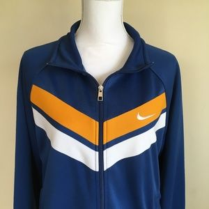 Nike Athletic Dept. Blue Track Jacket Size Large