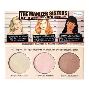 """theBalm """"The Manizer Sisters"""" Highlighter Palette"""