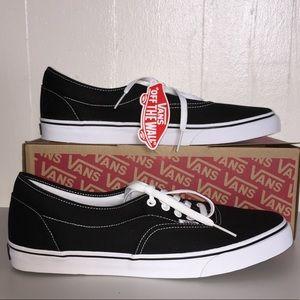 15f7353038 Vans Shoes - NWT Vans Men s Lo Pro Era Black Sneakers