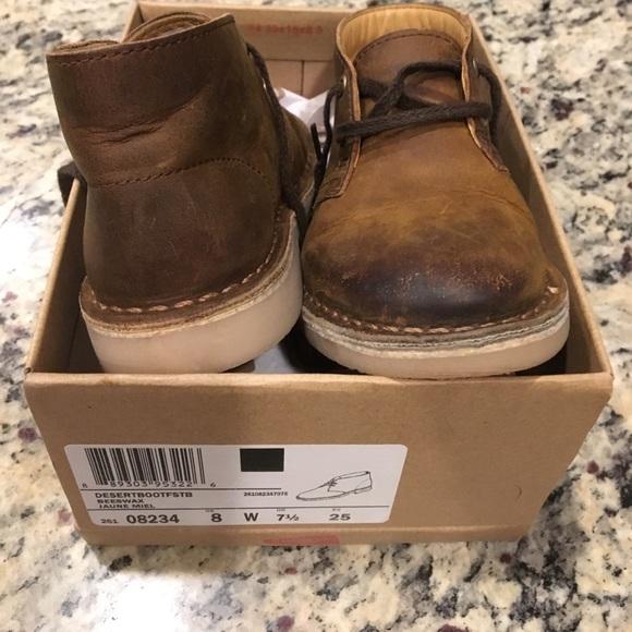 c3a56a88bdc98 Clarks Shoes | Desert Boots Kids Size 8 | Poshmark