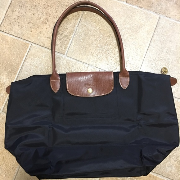 Authentic Longchamp Le Pliage - Black w  Organizer 6ff7ff72217ad