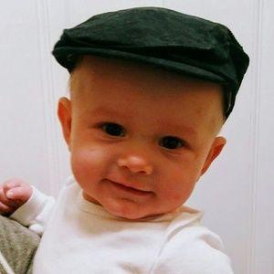 Baby news boy hat
