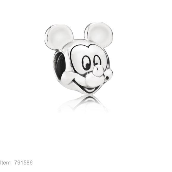 75ef3f05b Mickey Mouse portrait Pandora charm. M_59d22db8ea3f36e1450030ee