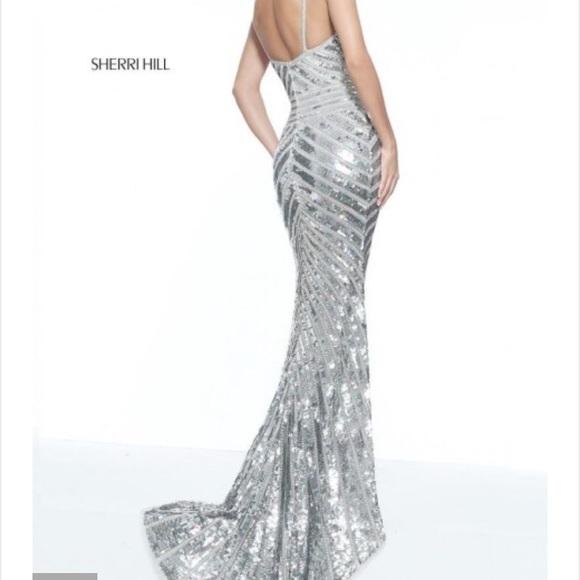 Sherri Hill Dresses   51206 Sequin Prom Dress   Poshmark
