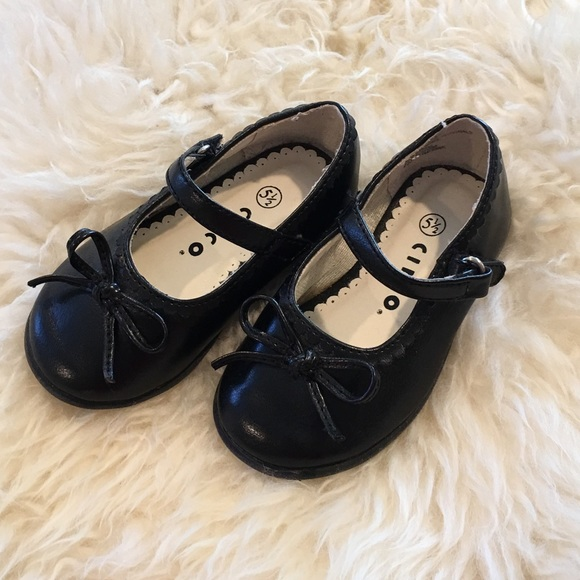 new lower prices on sale store Black dress shoes for toddler girl Circo 5.5