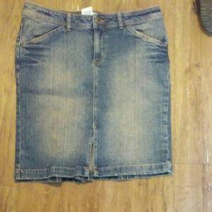 Bisou Bisou Jeans Skirt
