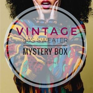 🌾vintage 90s sweater mystery box🌾