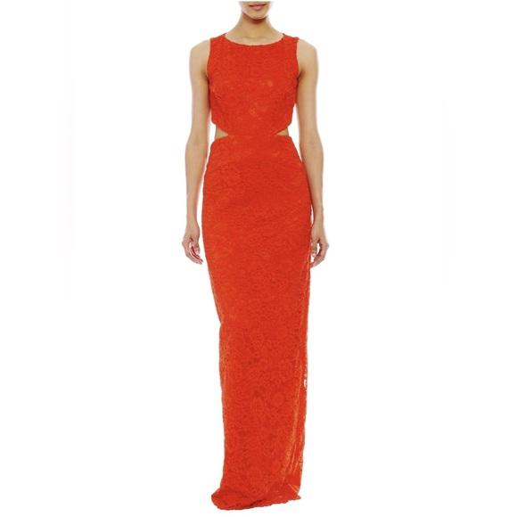 Nicole Miller Orange Coast Lace Gown | Poshmark