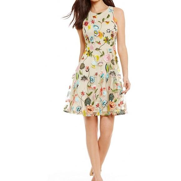 671d7b2084b Gianni Bini Dresses   Skirts - Gianni Bini Lana Floral Embroidered Dress  NWT 0
