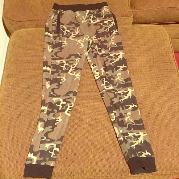 f9b01a377dd74 Pants   Army Fatigue Sweat   Poshmark