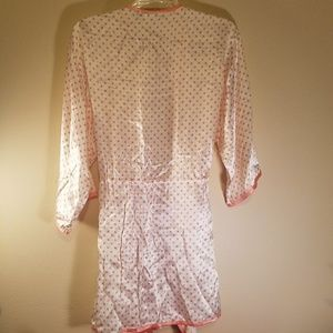 dbd491c434 WinterSilks Intimates   Sleepwear - Winter Silks poka dot robe
