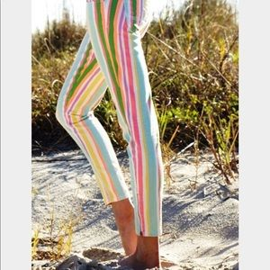 Lilly Pulitzer stripe colored Jeans