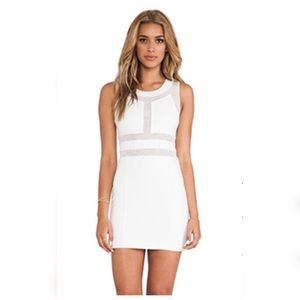 Bardot max dress in mesh