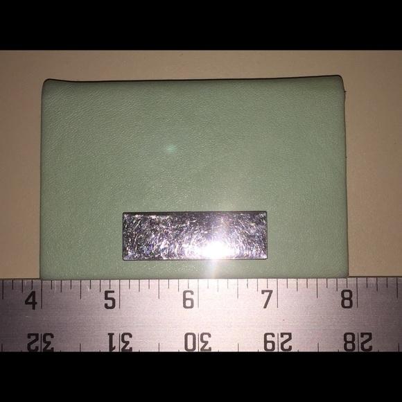 Francescas accessories francescas mint green business card holder francescas mint green business card holder colourmoves