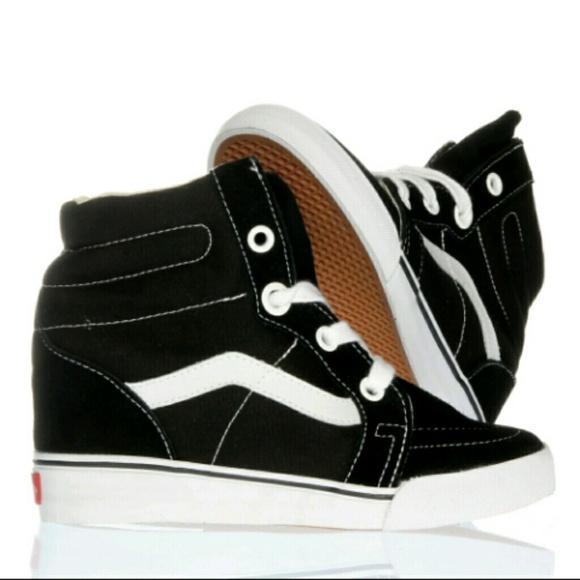 Vans Shoes   Van Sk8hi Wedge Sneakers