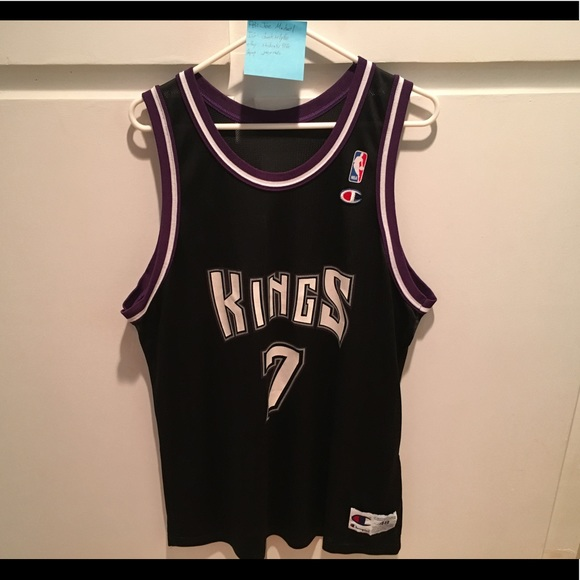 544cc7ce9521 Champion Other - Vintage Bobby Hurley Kings Champion Jersey 48