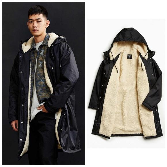 edd18574 Urban Outfitters Jackets & Coats | Sideline Sherpa Parka Coat Jacket ...