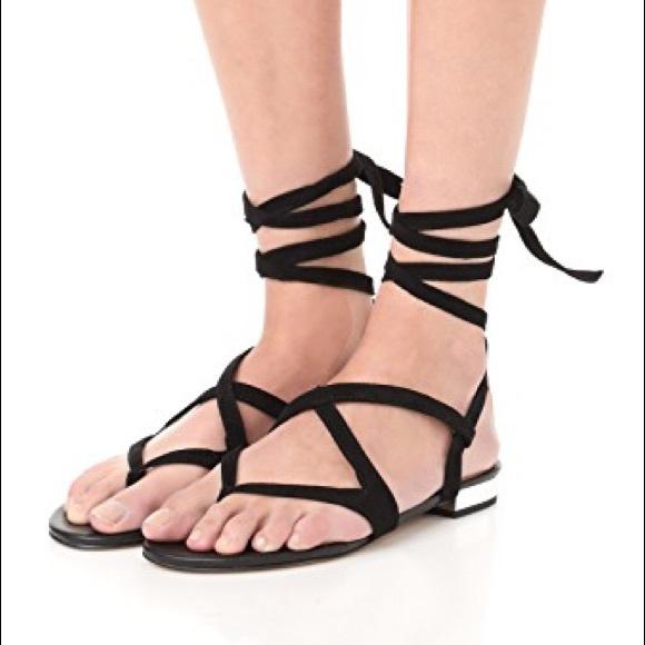 d8f65a8fb Sam Edelman Davina black suede sandal. Size 7.5. M 59d256763c6f9f8413009e22