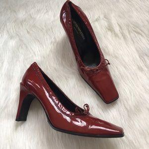 Red Emporio Armani Heels