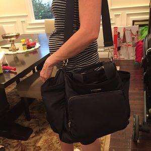 1970cf7e070a Prada Bags - Prada Vela Nylon Baby Bag - Black
