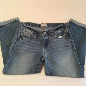 Aeropostale Rolled Ankle Jeans