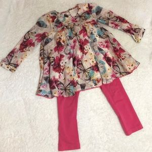 Beautiful monsoon outfit 2-3 years