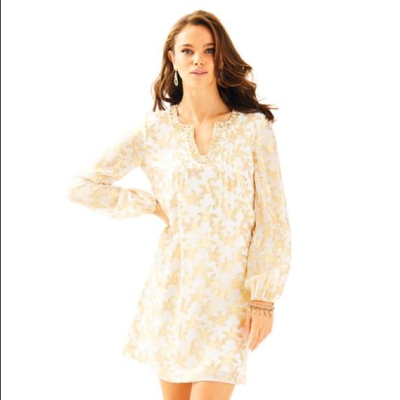 daa69200916b0f Lilly Pulitzer Dresses   Colby Silk Tunic Dress   Poshmark