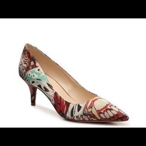 "nine west butterfly margot pumps 2.5"" heel"