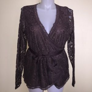 Women's Maurice's brand lace shirt size 16/18.