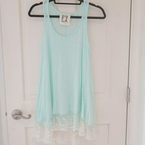 Tops - PPLA NWOT tunic tank Small