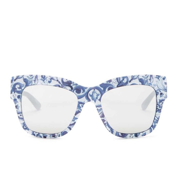 6b7642567a9f Dolce & Gabbana Accessories   Dolce Gabbana Almond Catwalk Floral ...