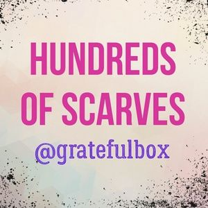 Welcome to @gratefulbox! #hundredsofscarves