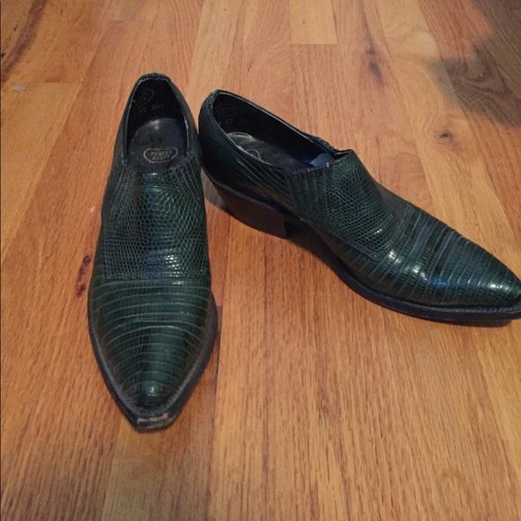 Low Top Vintage Cowboy Boots