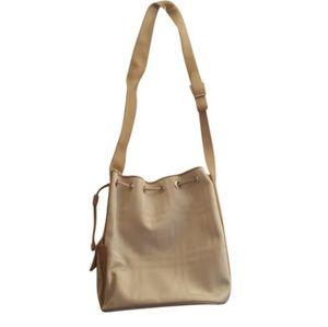 Tan Burberry Hobo Bag
