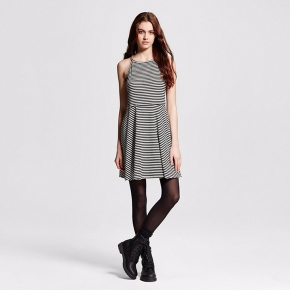 f9a1e9635243 Mossimo Supply Co. Dresses | New Bw Highneck Fit Flare Skater Dress ...