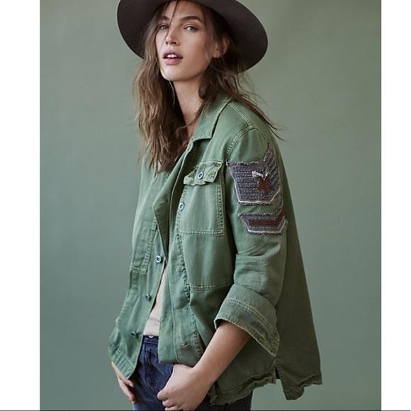 Free People Jackets & Blazers - 🔥Last 1 Free People Embellished Military Jacket