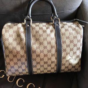 8fc47359889 Gucci Bags - Gucci 265697 GG Crystal JOY Coated Canvas BOSTON