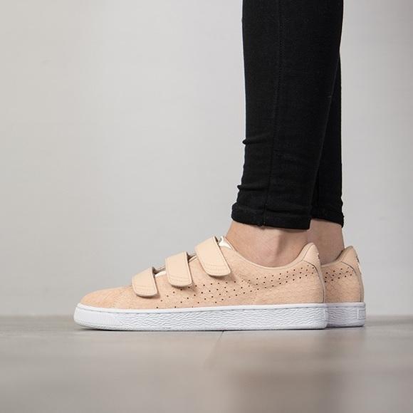 puma basket velcro sneakers