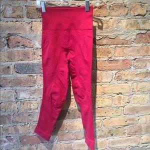 lululemon athletica Pants - Lululemon red legging, sz 2, 54574