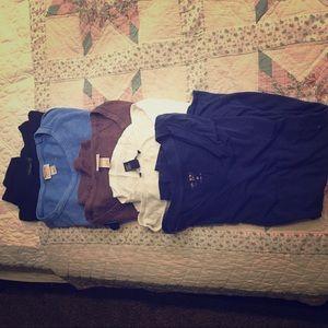 Tops - Lot of 5 t shirts/ henleys